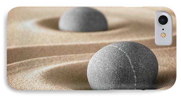 IPhone Case featuring the photograph Zen Stone Garden by Dirk Ercken