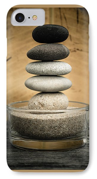 Zen Stones I IPhone Case by Marco Oliveira