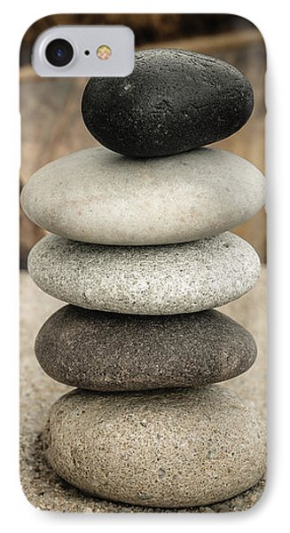 Zen Stones IIi IPhone Case by Marco Oliveira
