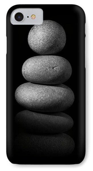 Zen Stones In The Dark II IPhone Case by Marco Oliveira