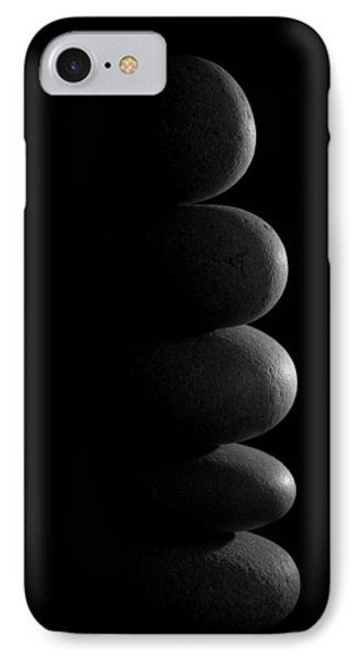 Zen Stones In The Dark IPhone Case by Marco Oliveira