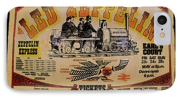 Zeppelin Express IPhone Case by David Lee Thompson