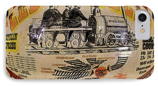 Zeppelin Express Work B Phone Case by David Lee Thompson