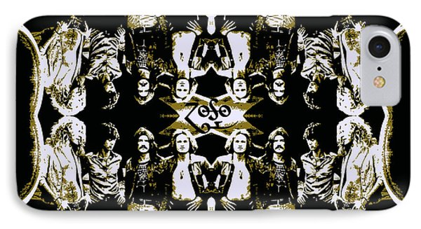 Zeppelin Times Four Phone Case by Dancin Artworks