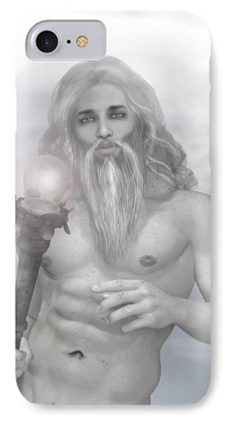 Zeus As Gray Wizard IPhone Case by Joaquin Abella