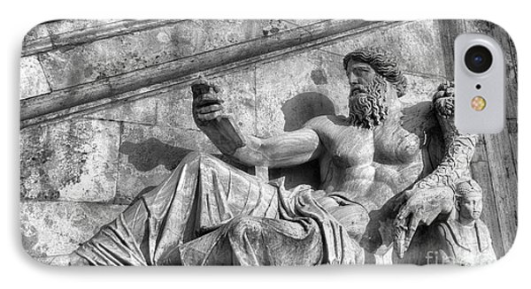 Zeus Black And White IPhone Case by Stefano Senise