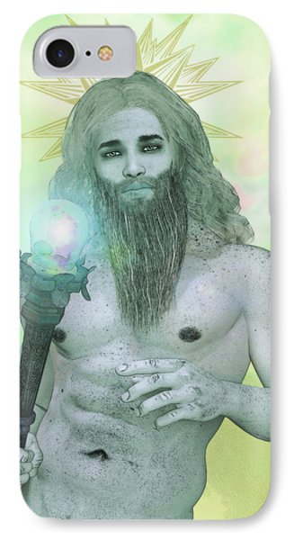 Zeus King Of The Gods IPhone Case by Joaquin Abella
