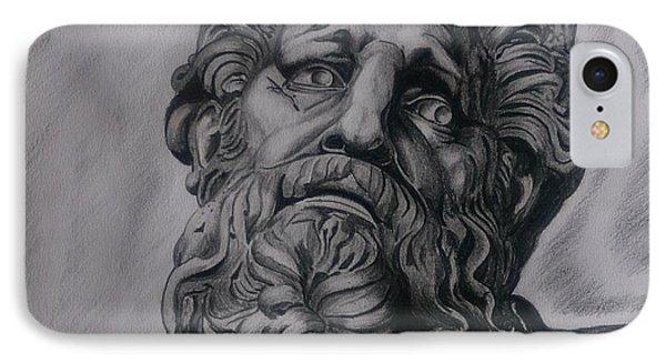 Zeus  IPhone Case by Tibor  Boszormenyi