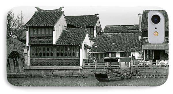 Zhujiajiao Ancient Water Town China Phone Case by Christine Till