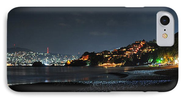IPhone Case featuring the photograph Zihuatanejo, Mexico by Jim Walls PhotoArtist