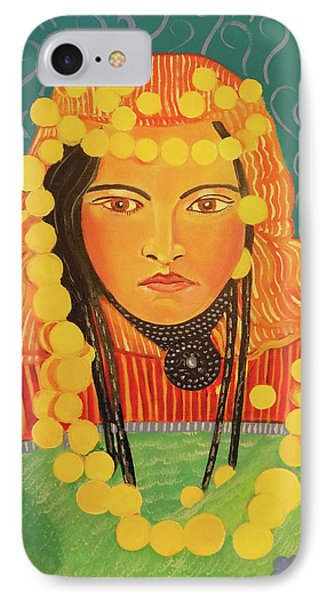 IPhone Case featuring the painting Zina by John Keaton