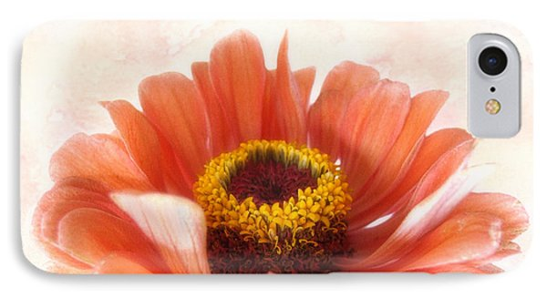 Zinnia Bright IPhone Case by Louise Kumpf