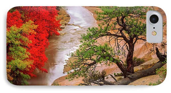 Zion After The Flood IPhone Case by Inge Johnsson