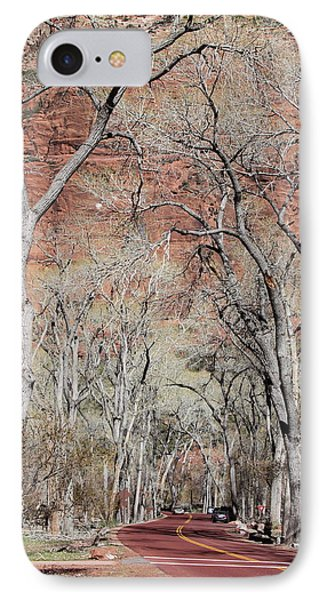 Zion At Kayenta Trail Phone Case by Viktor Savchenko