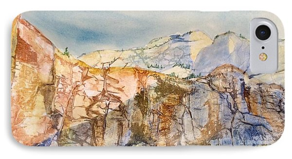 Zion Cliffs IPhone Case by Barbara Tibbets