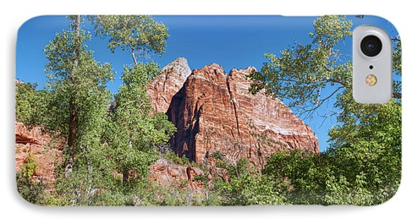 IPhone Case featuring the photograph Zion Contrasts by John M Bailey