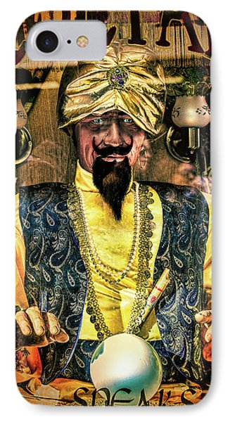IPhone Case featuring the photograph Zoltar by Chris Lord
