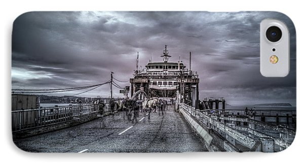 IPhone Case featuring the photograph Zombie Ferry Ride by Spencer McDonald