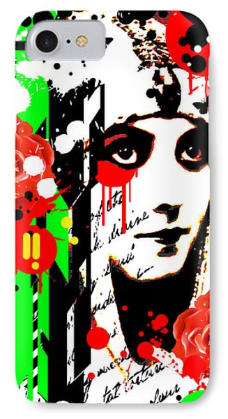 Zombie Queen Roses Phone Case by Chris Andruskiewicz