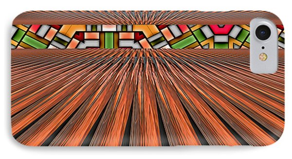 Zoned Phone Case by Wendy J St Christopher