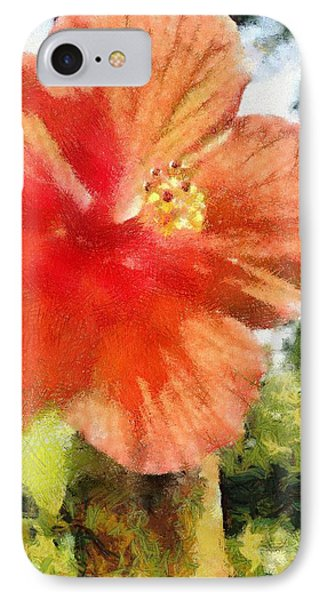 Zoo Flower Phone Case by Jeffrey Kolker