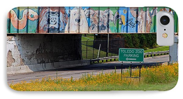 Zoo Mural IPhone Case by Michiale Schneider