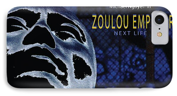 Zoulou Emperor Phone Case by Line Gagne