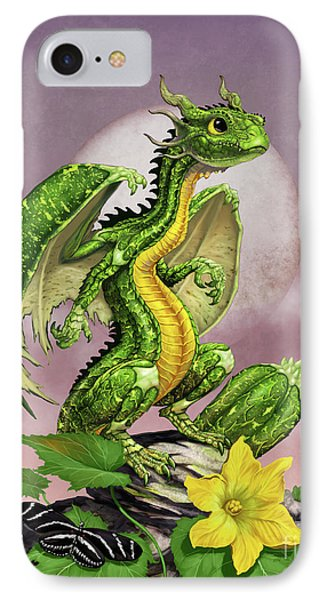 Zucchini Dragon IPhone Case by Stanley Morrison