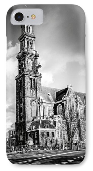 Zuiderkerk IPhone Case by Bryan Moore