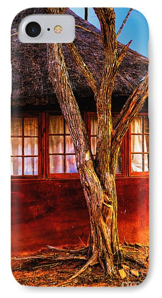 IPhone Case featuring the photograph Zulu Hut by Rick Bragan