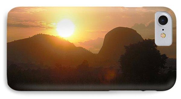Zuma Rock, Abuja Nigeria IPhone Case by Bankole Abe