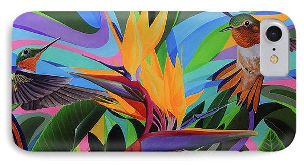 Zumbador Canela IPhone Case by Angel Ortiz