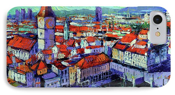 Zurich View IPhone Case