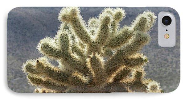 Opuntia Bigelovii iPhone 7 Case - Cholla Cactus by Jurgen Lorenzen