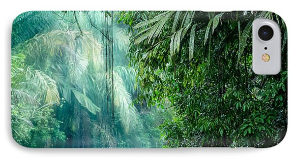 South America iPhone 7 Case - Tortuguero National Park, Rainforest by Ronnybas Frimages