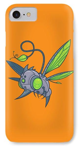 Honeybee iPhone 7 Case - Humm-buzz by John Schwegel