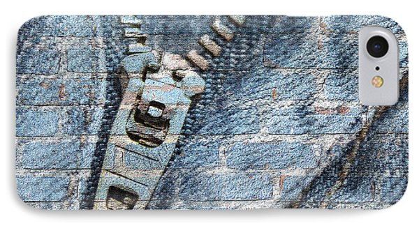 Guess iPhone 7 Case - Sexy Blue Jeans by Dezigners Agency