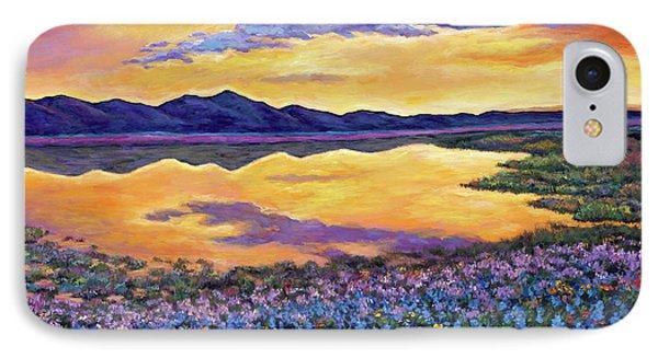 Rocky Mountain iPhone 7 Case - Bluebonnet Rhapsody by Johnathan Harris