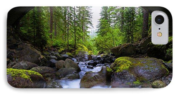Architecture iPhone 7 Case - Bridge Below Rainier by Chad Dutson