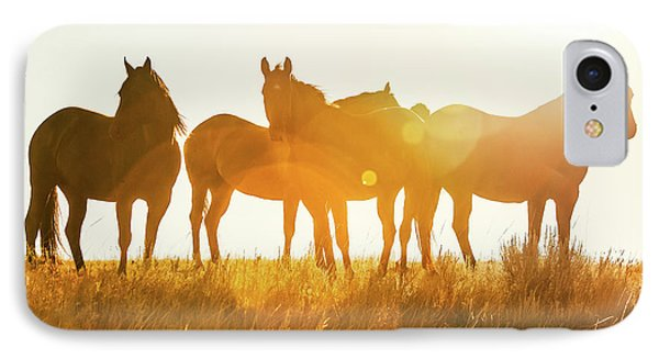 Horse iPhone 7 Case - Equine Glow by Todd Klassy