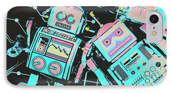 Technological iPhone 7 Case - From A Video Game Prototype by Jorgo Photography - Wall Art Gallery