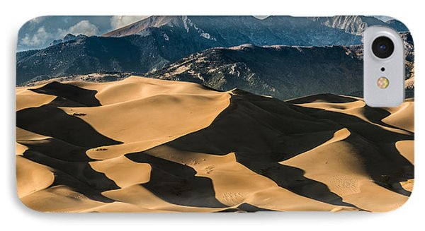 Rocky Mountain iPhone 7 Case - Great Sand Dunes National Park Colorado by Kris Wiktor