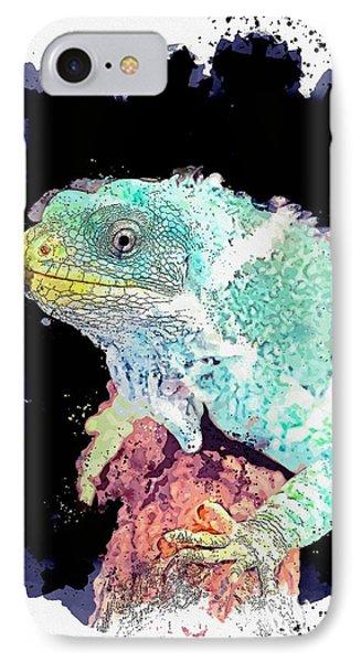 Far North Queensland iPhone 7 Case - Hartley's Crocodile Adventures, Wangetti, Australia -  Watercolor By Adam Asar by Adam Asar