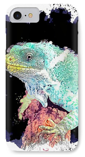 Far North Queensland iPhone 7 Case - Hartley's Crocodile Adventures, Wangetti, Australia   Watercolor By Adam Asar by Celestial Images