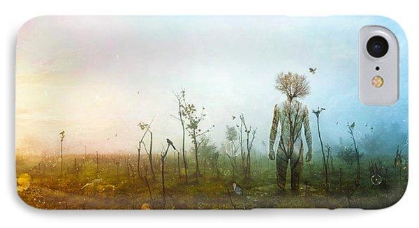 Dawn iPhone 7 Case - Internal Landscapes by Mario Sanchez Nevado