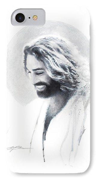 Jesus iPhone 7 Case - Joy Of The Lord Vignette by Greg Olsen