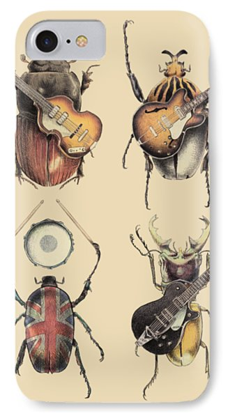 The iPhone 7 Case - Meet The Beetles by Eric Fan