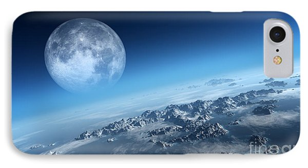 Rocky Mountain iPhone 7 Case - Planet Earth Icy Ocean And Rocky by Johan Swanepoel