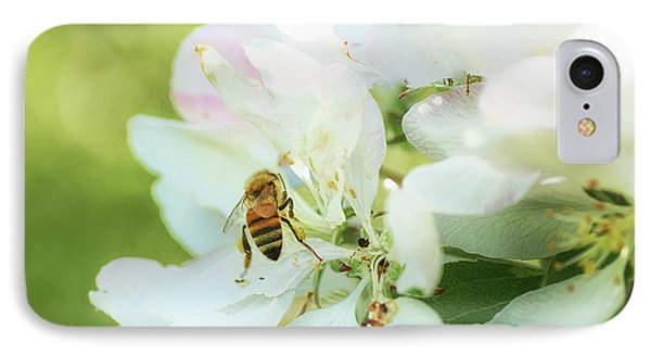 Honeybee iPhone 7 Case - Pollen Gathering by Susan Capuano