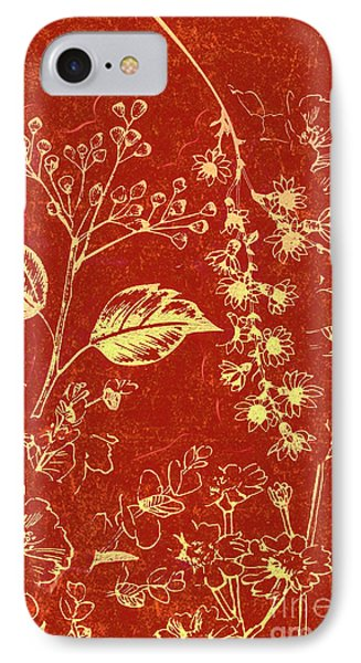 Orchid iPhone 7 Case - Red Blossoms by Jorgo Photography - Wall Art Gallery